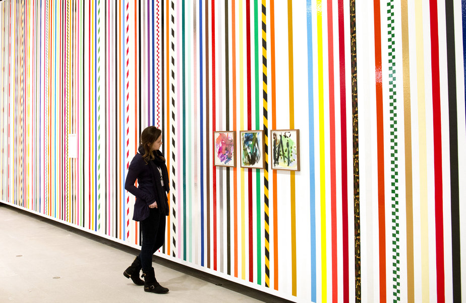 Work no. 1806 2014martin creed whats the point of it hayward gallery 2014 installation view photo linda nylind 33 924 xxx q85